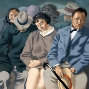 tln kumu Eduard Ole, 'Travelers', 1929
