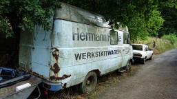 Hermann H--ke Werkstattwagen near deilbach