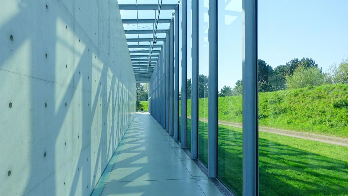 Langen Foundation Side Aisle