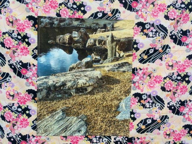 Langen Foundation Detail of 'Japan Diary' by Anne Pöhlmann Rocks