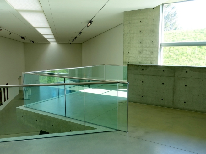 Langen Foundation Interior View from Second Story