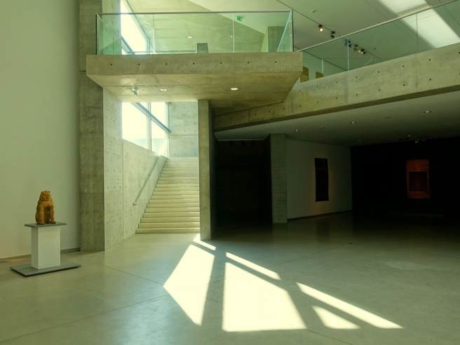 Langen Foundation Interior View with Lion